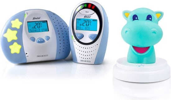 Alecto DBX88 ECO Dect Babyfoon met display
