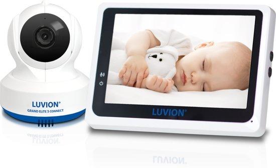 Luvion Grand Elite 3 Connect HD Wifi Babyfoon met Camera én App - Premium Baby Monitor