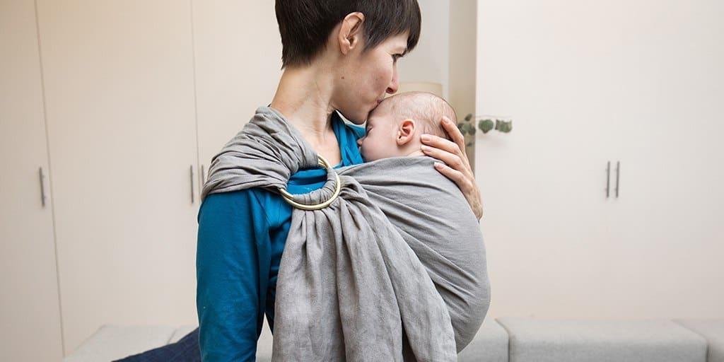 Beste baby Omslagdoek