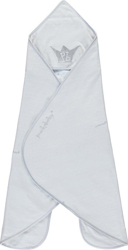 Puckababy GoGo Newborn - Wikkeldoek 0/6 m - PB Grey