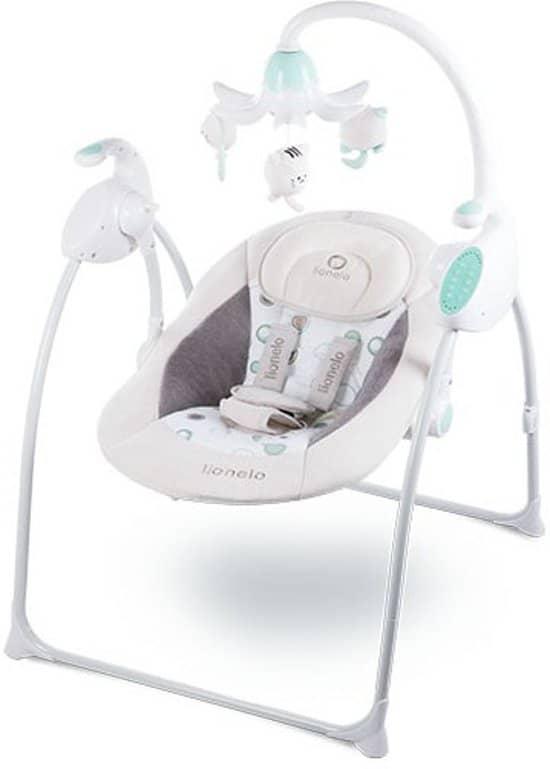 Lionelo Robin - Baby schommel met muziek - Geschikt voor 0-6 maanden - Beige