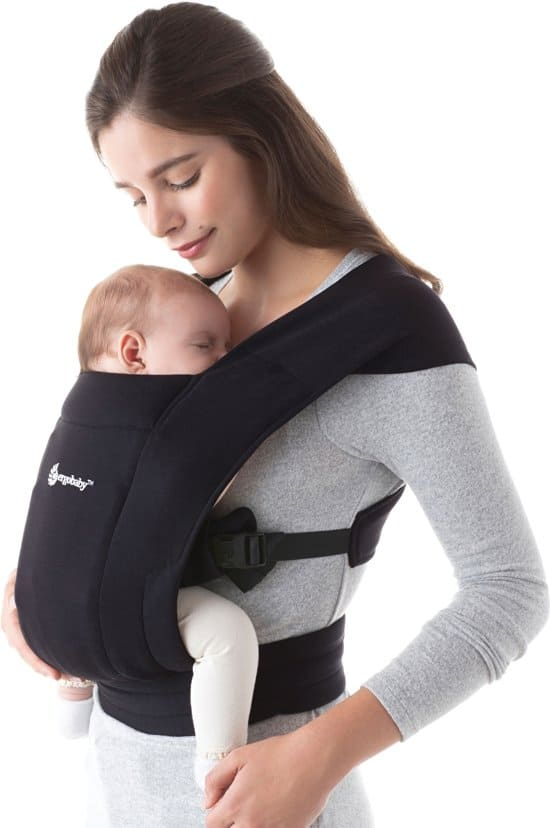 Ergobaby Embrace ergonomische draagzak - Pure Black