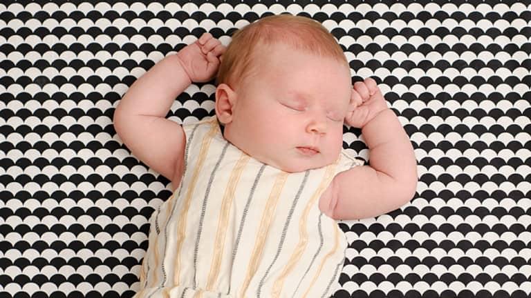 Baby 3 weken