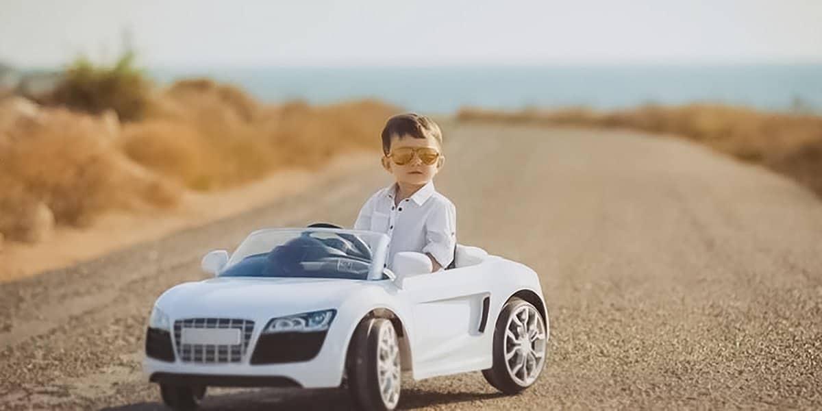 Beste elektrische auto voor kinderen
