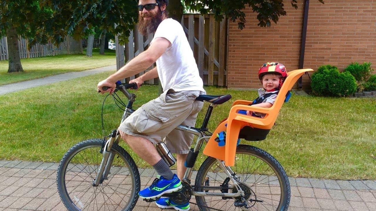 Beste fietsstoeltje voor achter