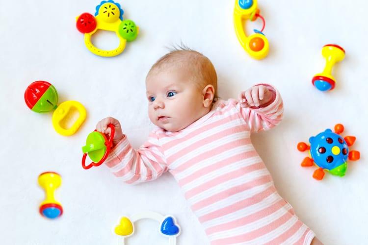 Beste speelgoed voor 0 tot 6 maanden oud