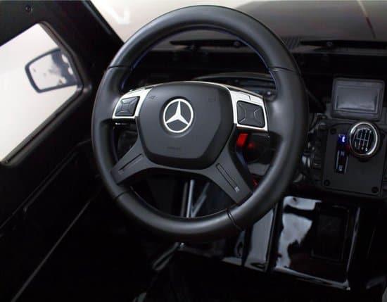 Mercedes G63 AMG | Elektrische kinderauto 12V | Afstandsbediening + Mp3 | Zwart