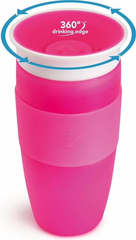 Munchkin Miracle sippy Drinkbeker - 414ml - Pink