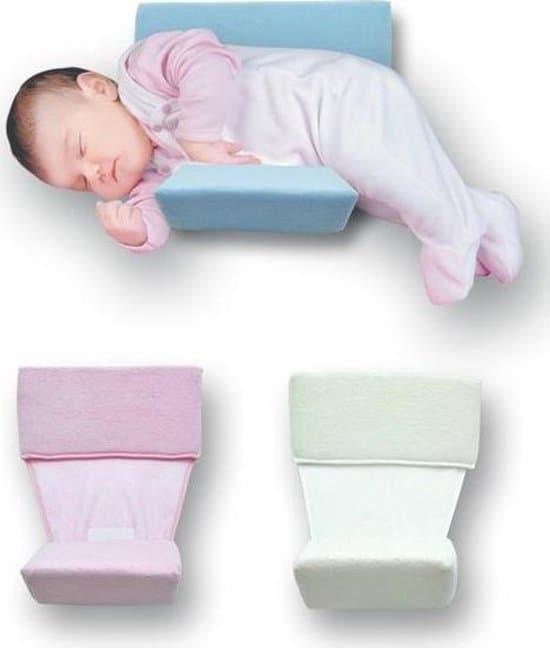 Babystartup - Zijslaapkussen - blauw