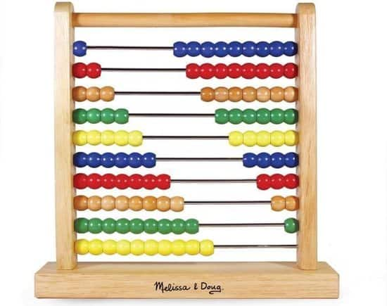 Melissa & Doug Houten Telraam - Abacus