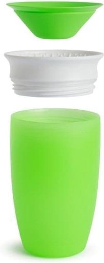 Munchkin Miracle 360 sippy cup Drinkbeker - green