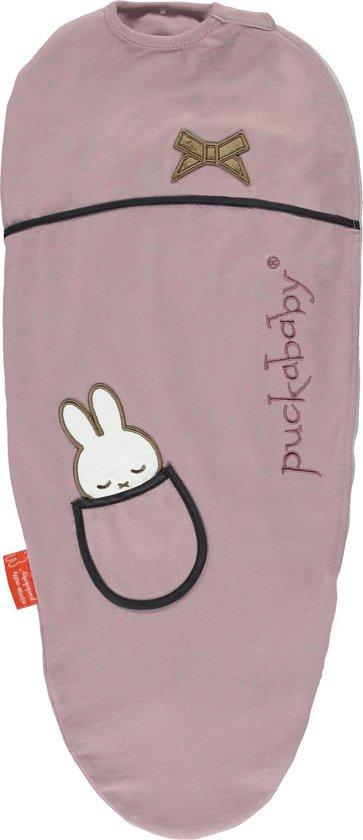 Puckababy inbakerslaapzak Original Piep 0-3 maanden - Miffy Candy
