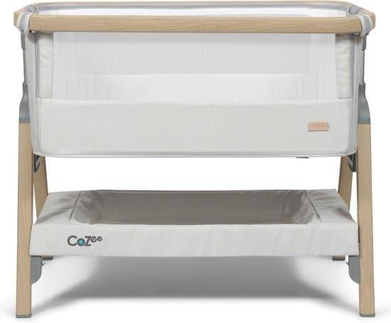 Tutti Bambini Cozee Bedside Co-sleeper - Zilver