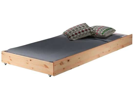 Vipack - Stapelbed Claire hoog  - 90x200 - Bruin