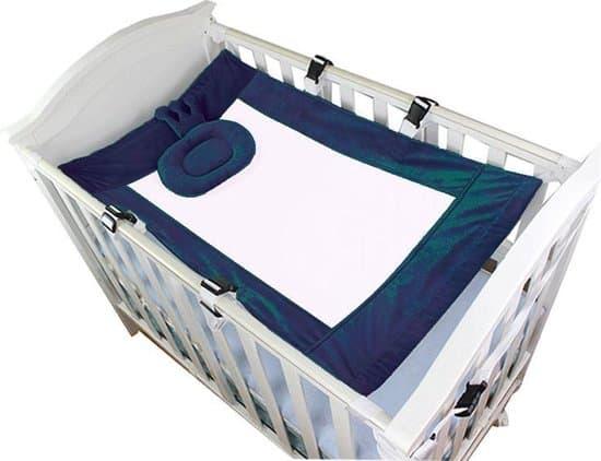 Baby Hangmat - Hangmat Box - Wiegjes - Katoen - Veilig - Comfort - Slapen - Bed  - Tuin - Blauw - Babyshower